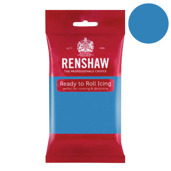 Pâte à sucre bleu turquoise - Renshaw