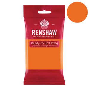 Renshaw - Pâte à sucre orange mandarine - Renshaw