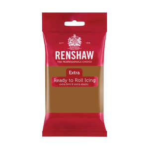 Renshaw - Renshaw - Light Brown Rolled Fondant