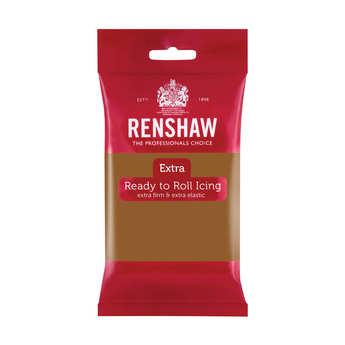 Renshaw - Renshaw Extra - Light Brown Rolled Fondant