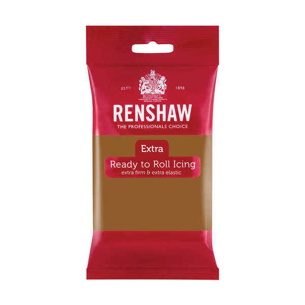 Renshaw Extra - Light Brown Rolled Fondant
