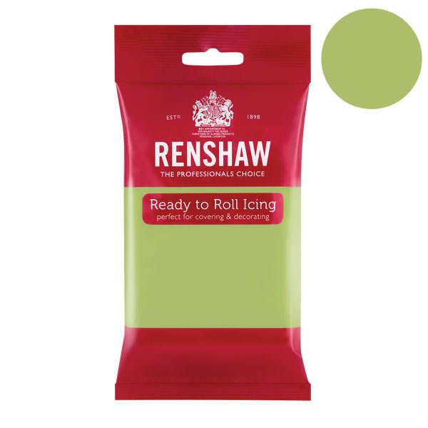 Pâte à sucre vert pistache - Renshaw