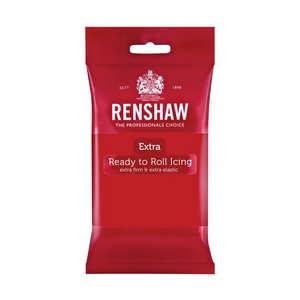 Renshaw - Pâte à sucre rouge coquelicot - Renshaw