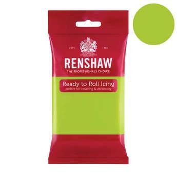 Renshaw - Pâte à sucre vert pomme - Renshaw