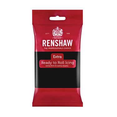 Renshaw Extra - Black Rolled Fondant