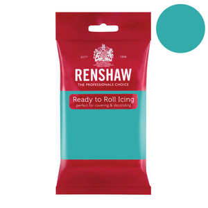 Renshaw - Pâte à sucre vert turquoise - Renshaw