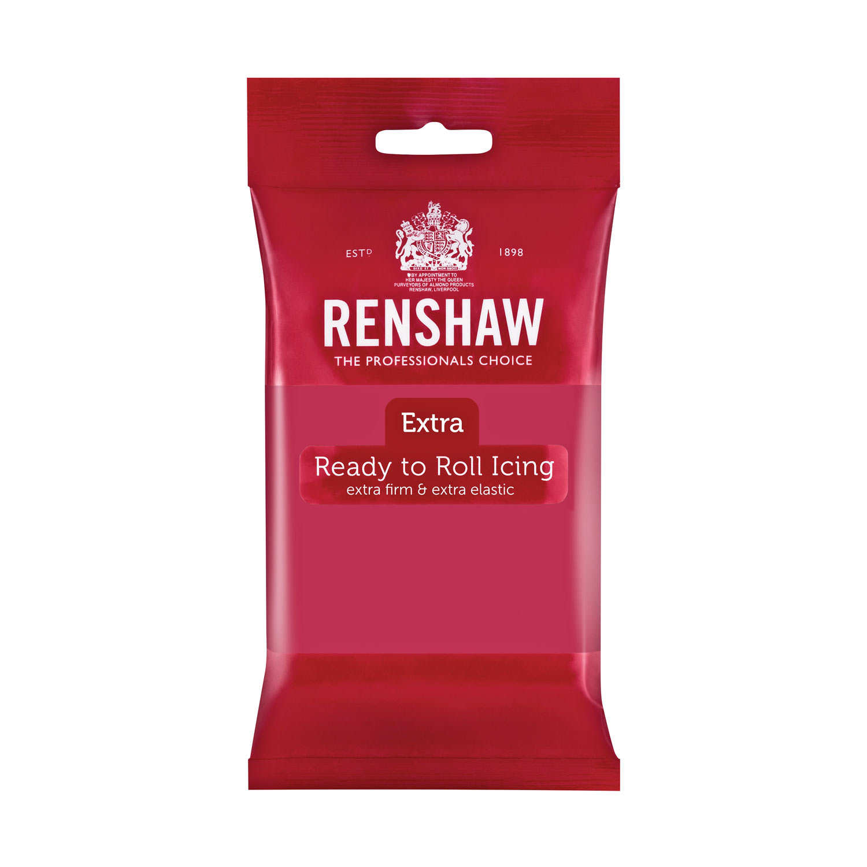Renshaw Extra - Fuchsia Pink Rolled Fondant