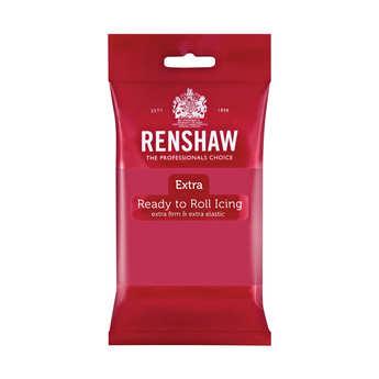 Renshaw - Pâte à sucre fuchsia - Renshaw Extra
