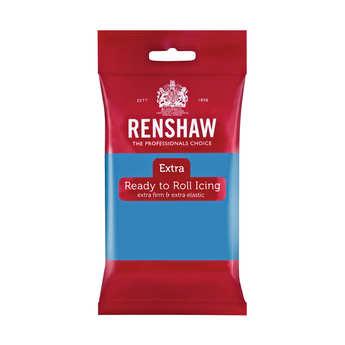 Renshaw - Pâte à sucre bleu turquoise - Renshaw Extra