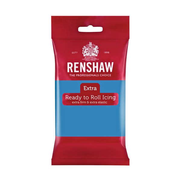 Pâte à sucre bleu turquoise - Renshaw Extra
