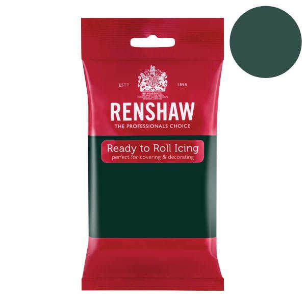 Pâte à sucre vert bouteille - Renshaw