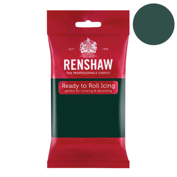 Renshaw - Bottle Green Rolled Fondant