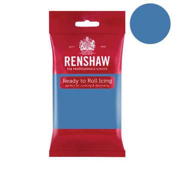 Renshaw - Pâte à sucre bleu poudré - Renshaw