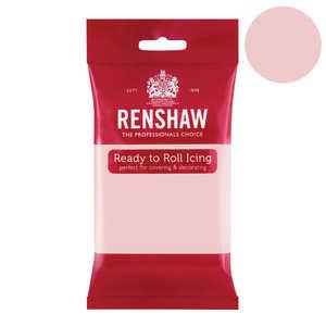 Renshaw - Pâte à sucre rose clair poudré - Renshaw