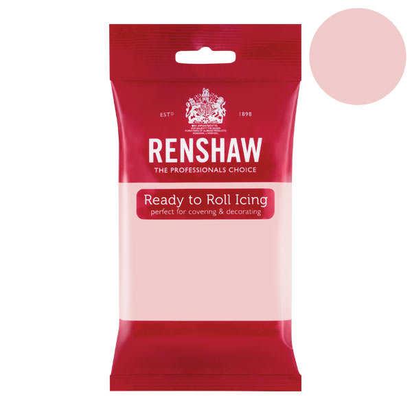 Pâte à sucre rose clair poudré - Renshaw