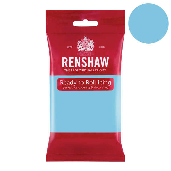 Pâte à sucre bleu azur - Renshaw