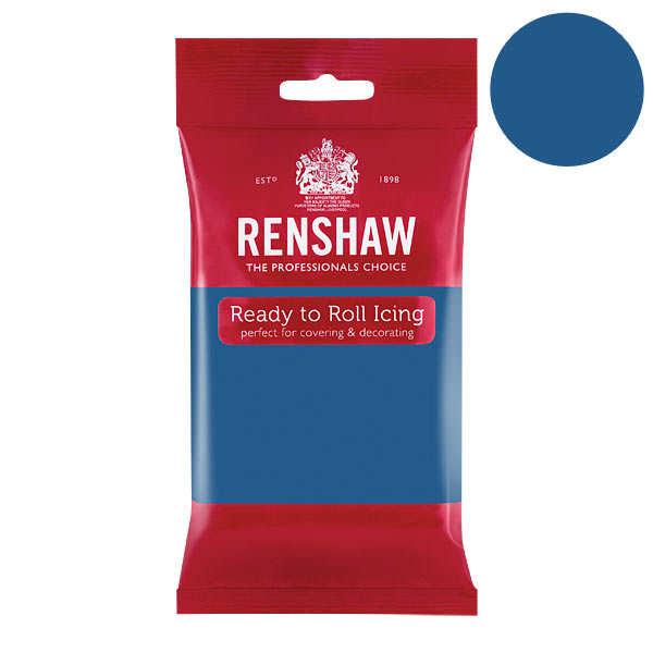 Pâte à sucre bleue atlantique - Renshaw