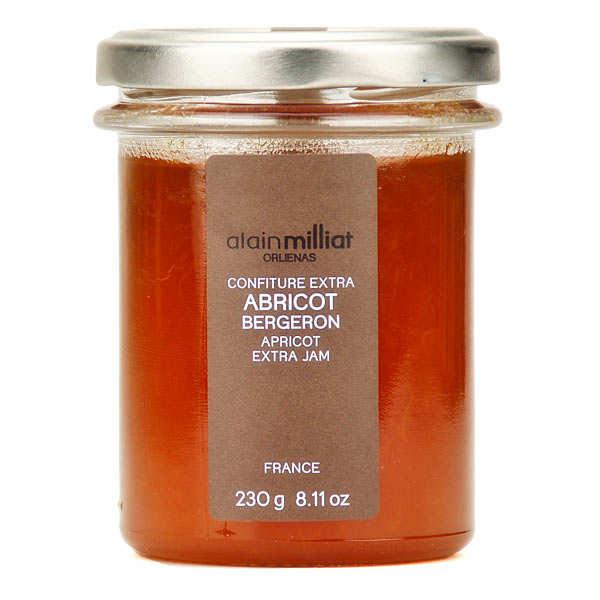 Confiture d'abricot Bergeron - Alain Milliat
