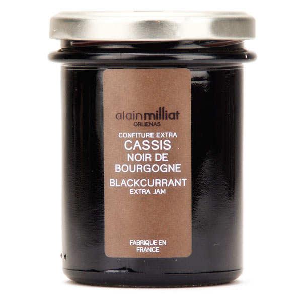Confiture de cassis noir de Bourgogne - Alain Milliat