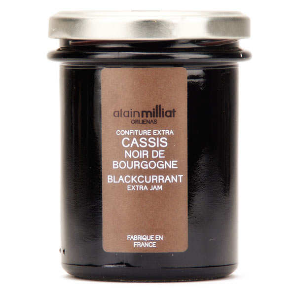 Jam of Cassis Black Burgundy - Alain Milliat