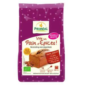 Priméal - Organic mix for gingerbread (325g)