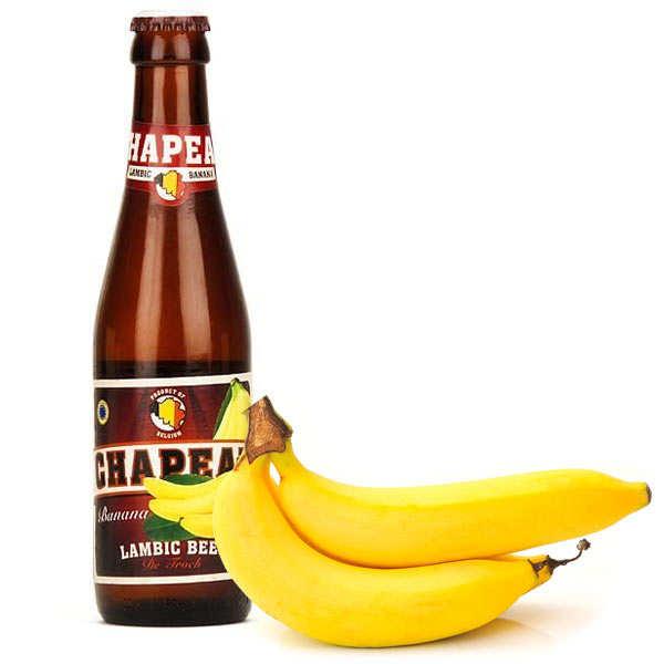 Bière chapeau banane blonde belge - 3,5%