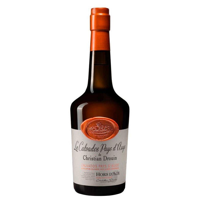 Calvados Christian Drouin du Pays d' Auge Hors d'Age - 42%