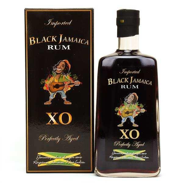 Black Jamaica Rum XO + case - 40%