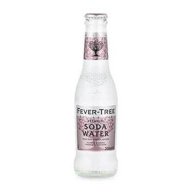 Fever Tree soda water (eau gazeuse pour cocktail)