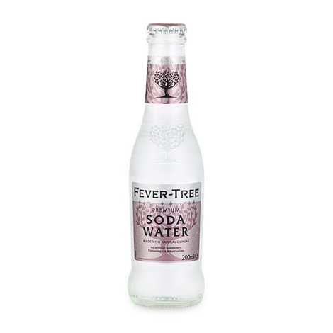 Fever Tree - Fever Tree soda water (eau gazeuse pour cocktail)