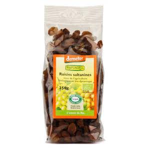 Rapunzel - Raisins secs Sultanines bio demeter