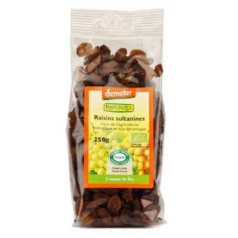 Rapunzel - Organic Demeter Sultanines Raisins bag