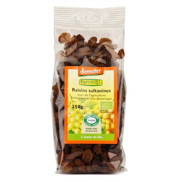 Raisins secs Sultanines bio demeter