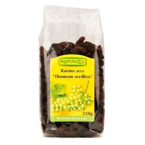 Rapunzel - Raisins secs Thomson Seedless bio