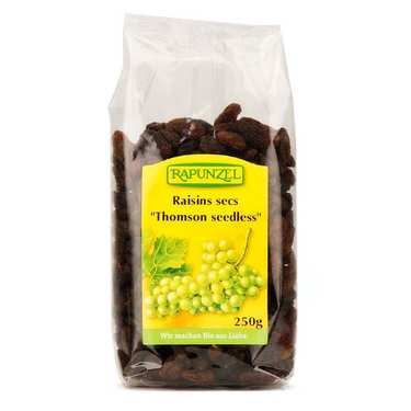 Raisins secs Thomson Seedless bio
