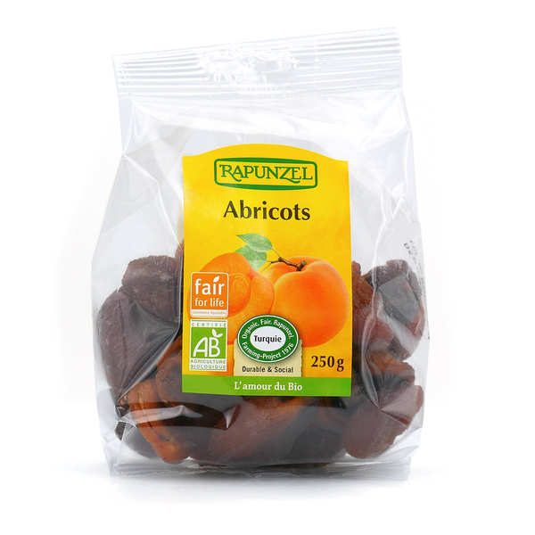 Organic Dried Whole Apricots