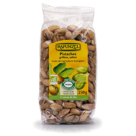 Ibo Produits Bio - Organic Roasted and Salted Pistachios in shells