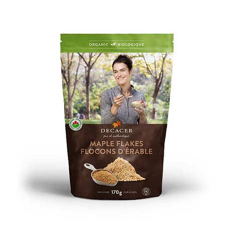 Decacer - Flocons d'érable bio (sucre d'érable en flakes)