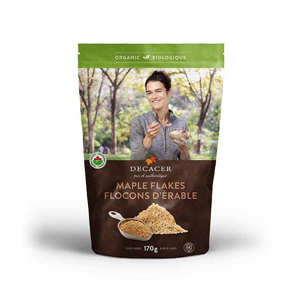 Flocons d'érable bio (sucre d'érable en flakes)