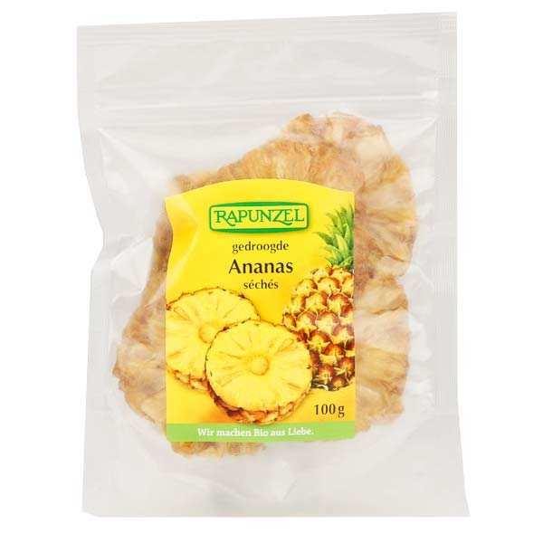 Rondelles d'ananas séchées bio