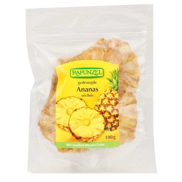 Organic Washers Dried Pineapple