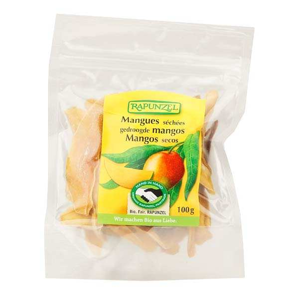 Organic Dried mango slices