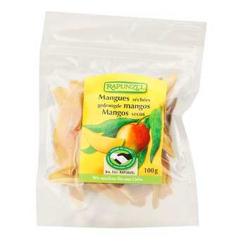 Rapunzel - Organic Dried mango slices