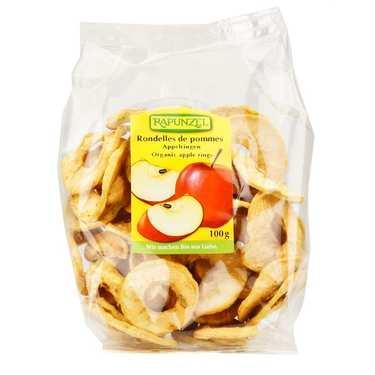 Rondelles de pommes séchées bio