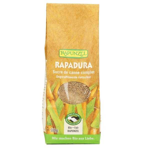Rapadura, sucre de canne complet bio