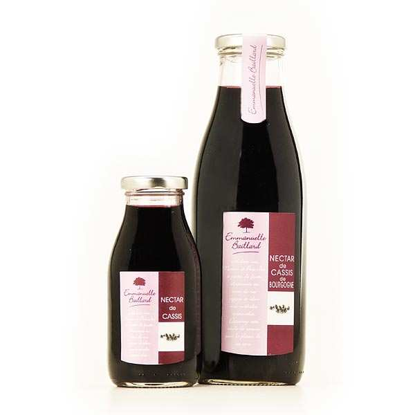 Black currant nectar from Burgundy