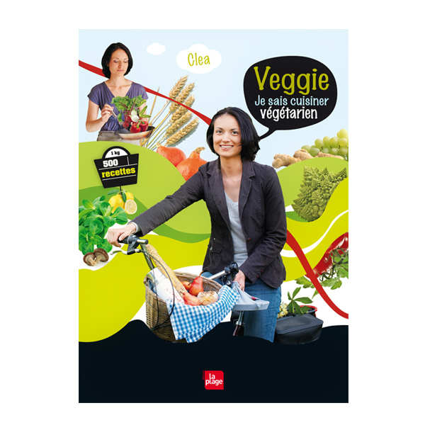 Veggie - I know how to cook vegetarian - Book of Clea