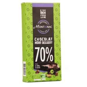 Michel Montignac - Organic Dark Chocolat 70% for pastry
