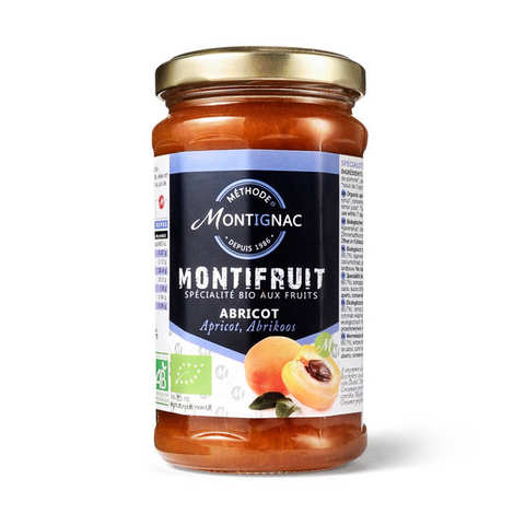 Michel Montignac - Montifruit bio aux  Abricots - Montignac