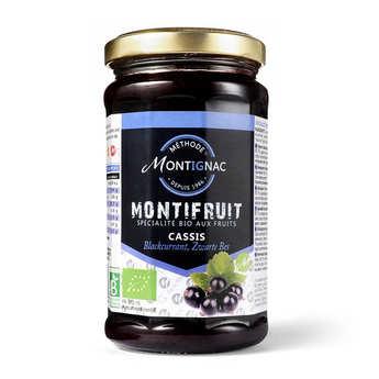 Michel Montignac - Montifruit bio au cassis - Montignac